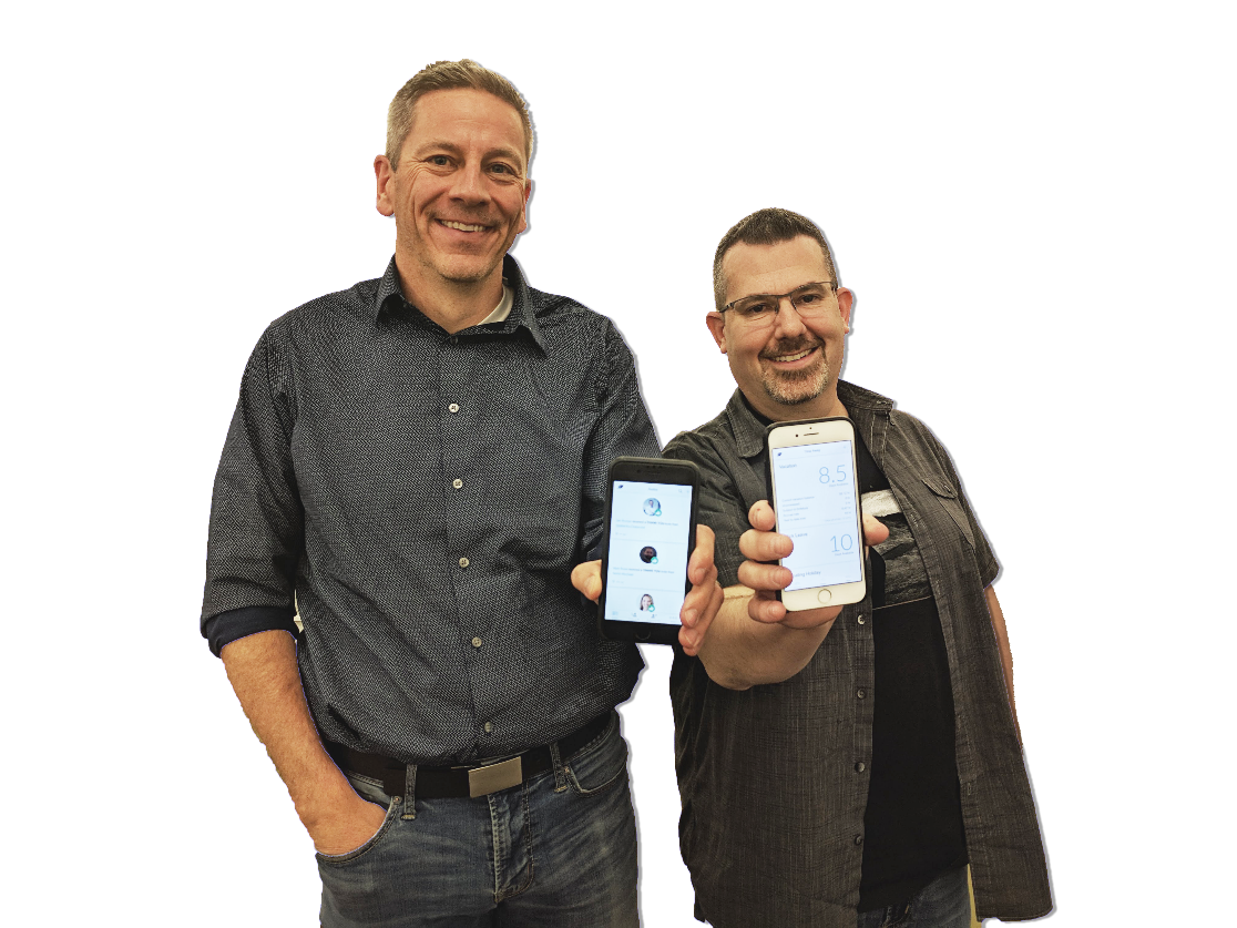 Photos of the people who drove the Thrive effort - Pat Dunn and Eric McChesney