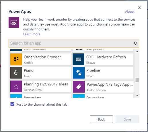 powerapps in microsoft teams 8211 make your team more productive